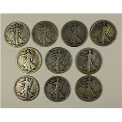 10 PIECE WALKING LIBERTY SET