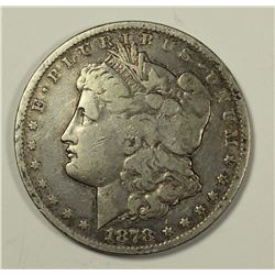 1878-CC MORGAN SILVER DOLLAR