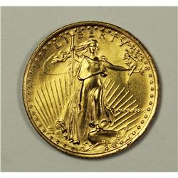 1986 1/10 OZ GOLD EAGLE $5