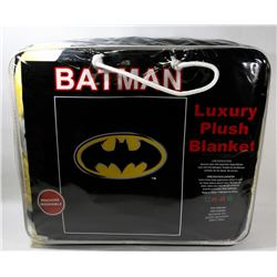 "NEW ""BATMAN"" LUXURY PLUSH BLANKET"