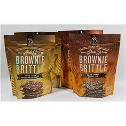 BAG OF ASSORTED BROWNIE BRITTLE