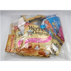 BAG OF ASSORTED WERTHERS CANDIES