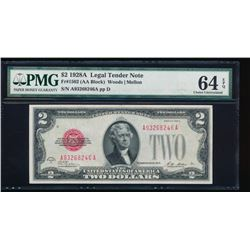 1928A $2 Legal Tender Note PMG 64EPQ