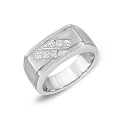 14KT White Gold 0.63ctw Diamond Ring