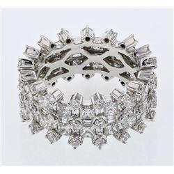 18KT White Gold 4.79ctw Diamond Ring