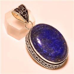 27.5ct Natural Blue Lapis Lazuli Pendant