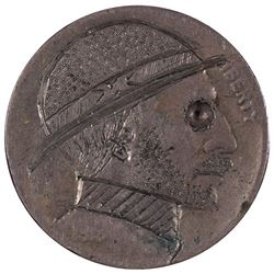 1919 Hobo Design Carved Buffalo Nickel