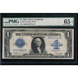 1923 $1 Silver Certificate PCGS 65EPQ