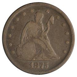1875 Twenty Cent Coin
