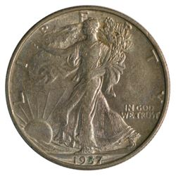 1937-S Walking Liberty Half Dollar Coin