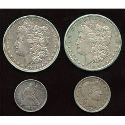 USA Coin Lot of 4