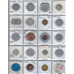 CANADA Lot of 112 pieces of Exonumia