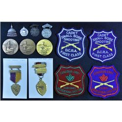 Canadian Shooting Medal Lot