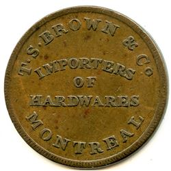 Lower Canada Token.