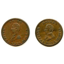 Lot of Two Broke Tokens.