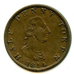 Br 881, CH-NS-9. Carritt & Alport, 1814 Half Penny