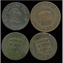 Lot of Four Nova Scotia Tokens