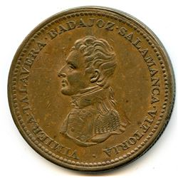 Br 984, CH-WE-12. Wellington 1813 One Penny.