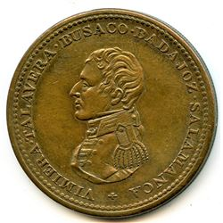 Br 985, CH-WE-13. Wellington 1813 One Penny, Cossack.