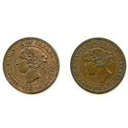 Devins & Bolton Tokens. Lot of Two.