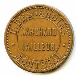 Br 575. D. Desjardins's Storecard, 1885.