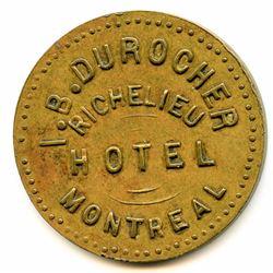 Br 620. I. B. Durocher's Richelieu Hotel.