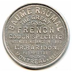 Br 664, L. R. Baridon/ Baume Rhumal.