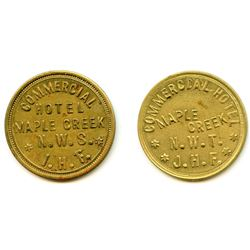 Lot of Two NWT Tokens.