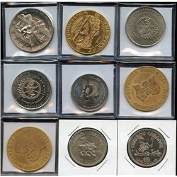 Collection of Municipal Trade Tokens