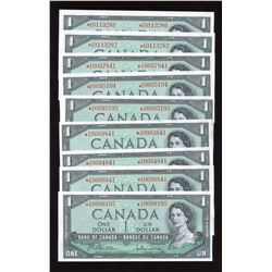 Bank of Canada $1, 1954 Replacement Notes