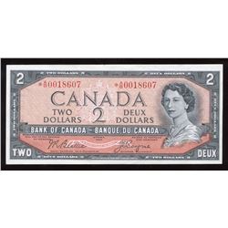 Bank of Canada $2, 1954 Replacement Note