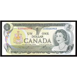 Bank of Canada $1, 1973 Replacement Note