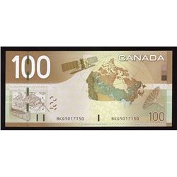 Bank of Canada $100, 2003 Changeover