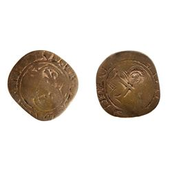 1640 countermark on a Louis XI Blanc a la Soleil, Ciani 759, Duplessy 553