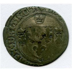 1640 countermark on a Francois I Grand Blanc de Bretagne, Ciani 1164, Duplessy 854, Sombart Unlisted