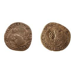 1640 countermark on a Francois I Douzain aux Salamandres et la pettite croix, Ciani Unlisted, Duples