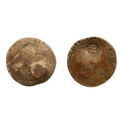 1640 countermark on a Francois I Douzain a la Croisette, Ciani 1170, Duplessy 927, Sombart 4368.