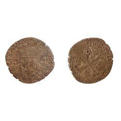 1640 countermark on a 1591-P [Dijon Mint] Charles X Douzain aux Deux C, 1st type, Ciani 1491, Duples