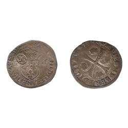 1640 countermark on a 1594 [Sisteron Mint?] Henri IV Douzain of a COMPLETELY UNLISTED TYPE in Ciani,