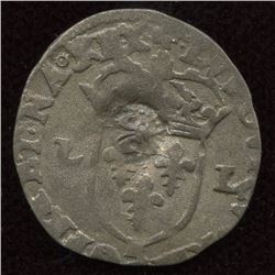 1640 countermark on a 1622-N [Montpellier Mint] Douzain of Louis XIII