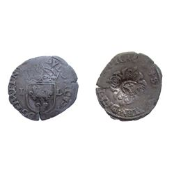 1640 countermark on a 1621-1629 [Nimes Mint] Douzain of Louis XIII