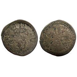 1693-M [Toulouse Mint] Sol de 15 Deniers, Gadoury 92.
