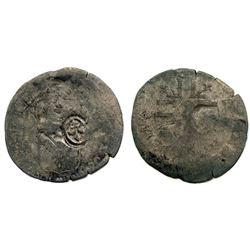 1696-X [Amiens Mint] Recoined Sol de 15 Deniers, Gadoury 93.