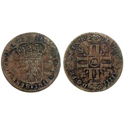 1697-AA [Metz Mint] Recoined Sol de 15 Deniers, Gadoury 91.