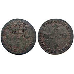 1708-BB Sol of 16 Deniers.