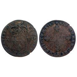1715-BB Sol of 16 Deniers.