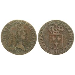 1720-BB [Strasbourg Mint] John Law Liard.