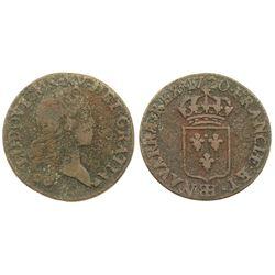 1720-BB [Strasbourg Mint] John Law Liard.