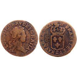 1720-CC [Besancon Mint] John Law Liard.