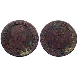1721-A [Paris Mint] John Law Liard.